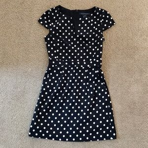 NWOT French Connection polka dot dress w/ pockets